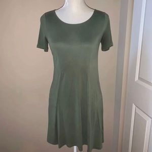 Urban Outfitters | Olive TShirt Dress
